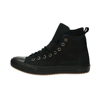 Converse pánska nubuková členková obuv - čierna