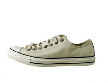 Converse pánske biele kožené štýlové letné tenisky