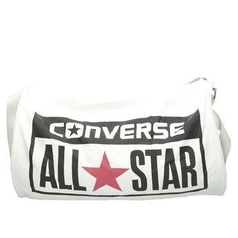 Converse unisex športová taška so zipsom - biela