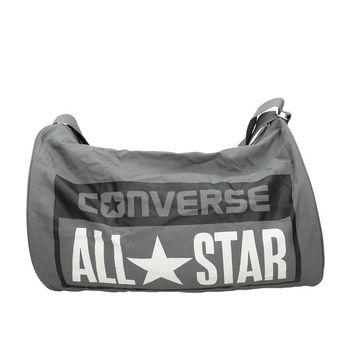 Converse unisex športová taška so zipsom - šedá