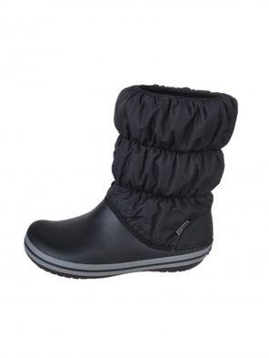 Crocs dámske čierne snehule