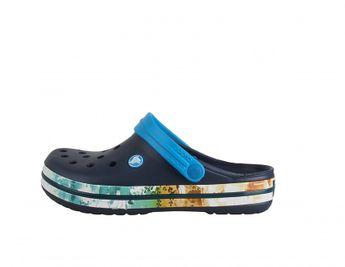 Crocs dámske modré letné šľapky