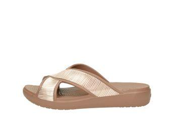 Crocs dámske šľapky - hnedé