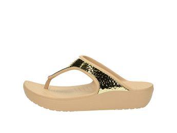 Crocs dámske šľapky - zlaté