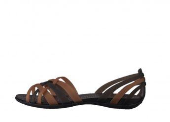 Crocs dámske sandále - tmavohnedé