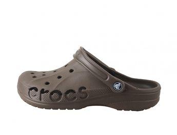 Crocs pánske hnedé šľapky