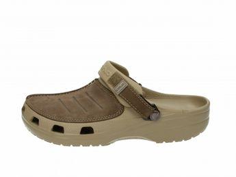 Crocs pánske šľapky - hnedé