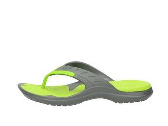 Crocs pánske šľapky - šedozelené