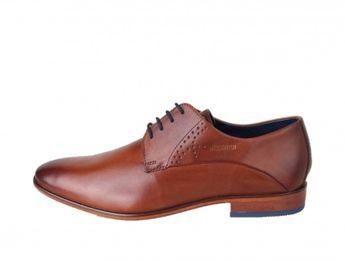 Daniel Hechter pánske koňakové spoločenské topánky