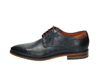 Daniel Hechter pánske spoločenské topánky - modré