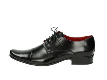 Faber pánske čierne spoločenské topánky