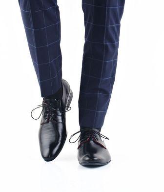 Faber pánske čierne topánky