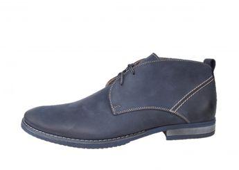 Faber pánske modré topánky