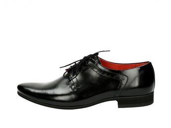 Faber spoločenské topánky - čierne