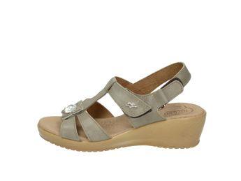 Fly flot dámske sandále - béžové