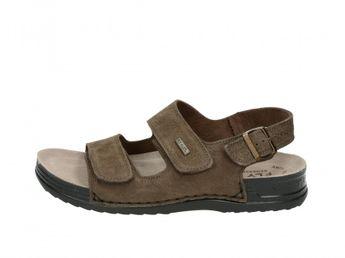 Fly flot pánske hnedé sandále