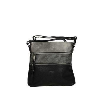 Gabor dámska crossbody kabelka - čierna