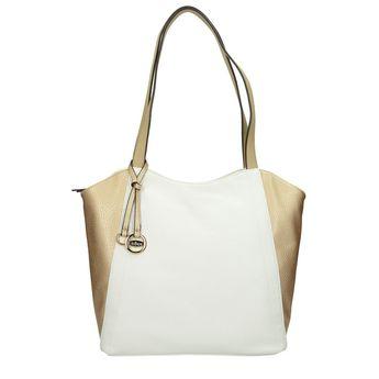 Gabor dámska kabelka - bielozlatá