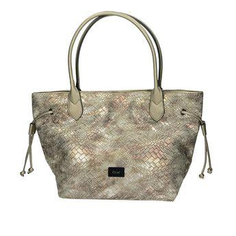 Gabor dámska vzorovaná kabelka - strieborná