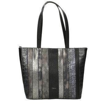 Gabor dámska vzorovaná kabelka - čierna