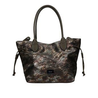 Gabor dámska vzorovaná kabelka - bronzová