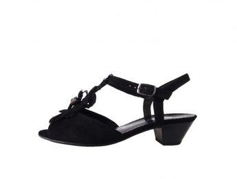 Gabor dámske čierne sandále