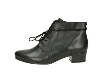 Gabor dámske módne kotníky - čierne