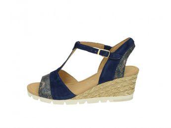 Gabor dámske sandále - modré