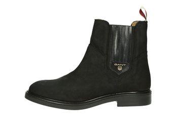 Gant dámske módne kotníky - čierne