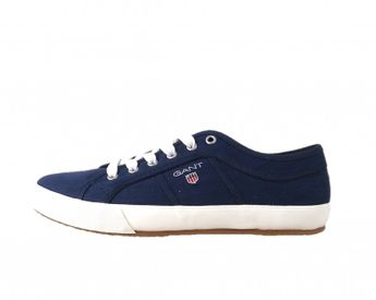 Gant pánske modré letné tenisky s logom