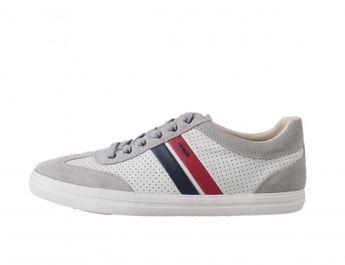 Geox pánske tenisky - bielo šedé