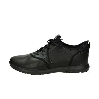 Geox pánske kožené tenisky - čierne