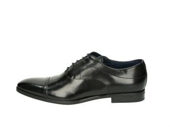 Geox pánske spoločenské topánky - čierne