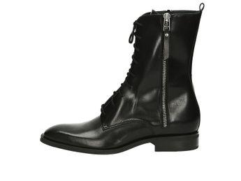 GINO ROSSI dámske módne čižmy - čierne