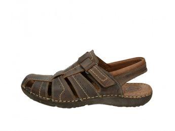 Girza pánske pohodlné sandále - hnedé
