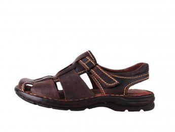 Girza pánske tmavohnedé sandále
