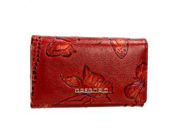 Gregorio dámska peňaženka - červená