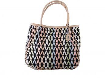 Rieker dámska viacfarebná kombinovaná kabelka