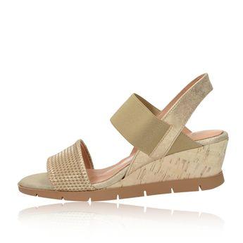 Hispanitas dámske sandále - zlaté