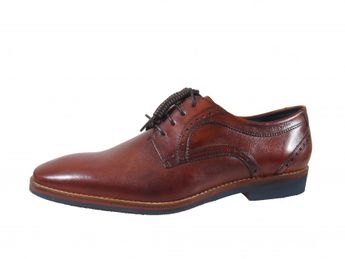 Daniel Hechter hnedé pánske kožené topánky