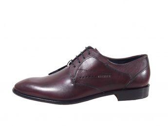 Daniel Hechter pánske šnurovacie topánky - hnedé