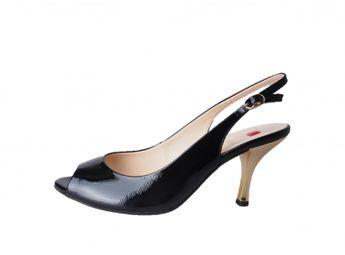 Högl dámske čierne sandále
