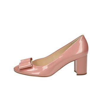 Högl dámske kožené lodičky - ružové