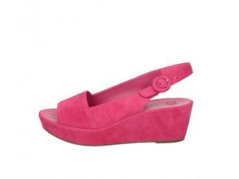 Högl dámske ružové sandále
