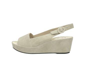 Högl dámske sandále - šedé