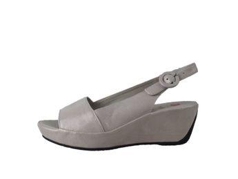Högl dámske strieborné sandále