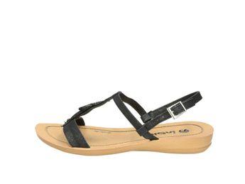 Inblu dámske čierne sandále