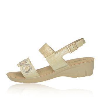 Inblu dámske elegantné sandále s remienkom - béžové
