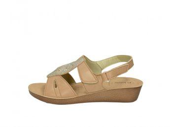 Inblu dámske hnedé štýlové sandále
