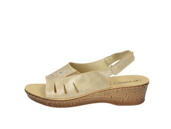 Inblu dámske zlaté elegántne sandále